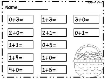 An Egg-stra Special Math Set - Easter