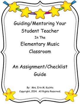 An Elem. Music Teacher's Guide/Checklist To Hosting A Stud