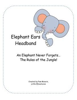 An Elephant Never Forgets... Rules Headband