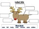 An Elf and Reindeer Writing Activity with Comparing, Descr