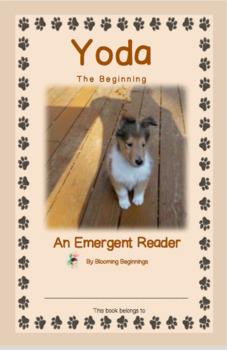 "An Emergent Reader:  ""Yoda...The Beginning"""
