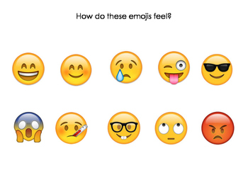An Emoji-Onal Summer! Back to School Activity