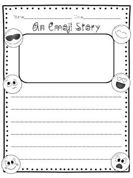 An Emoji Story FREEBIE