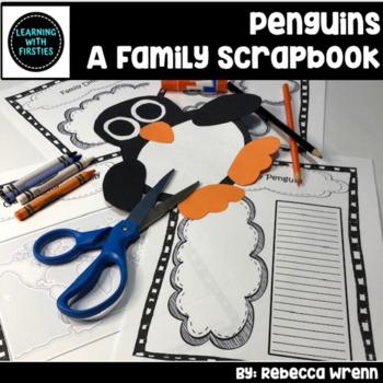 An Emperor Penguin Family Scrapbook Project