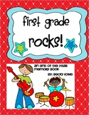 An End of the Year Memory Book for 1st Graders