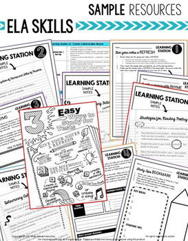 An Entire Year of ELA Instruction - 12 Months of ELA Curriculum