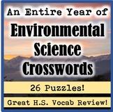 An Entire Year of High School / AP Environmental Science C