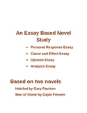 An Essay Base Novel Study