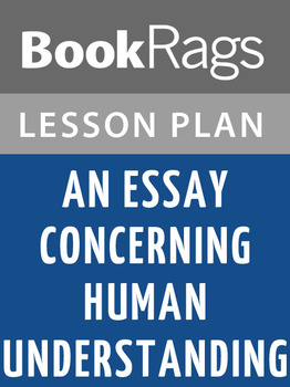 An Essay Concerning Human Understanding Lesson Plans