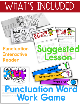 Back to School - Writing - Punctuation - An Exciting, New School Year