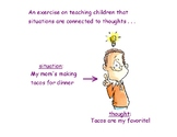 An Exercise on Teaching Children that Situations are Conne
