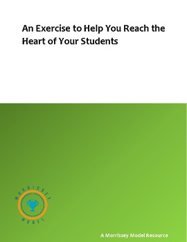An Exercise to Help You Reach the Heart of Your Students