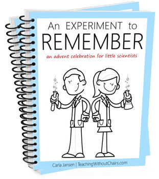 An Experiment to Remember: An Advent Celebration for Little Scientists