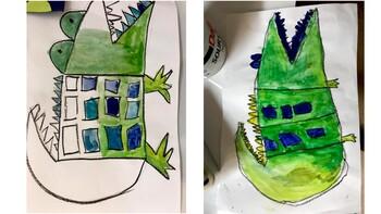 An Extraordinary Egg Alligator Art Project