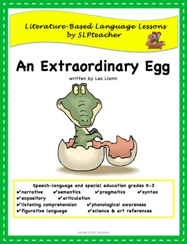 An Extraordinary Egg: Literature-Based Language Lessons