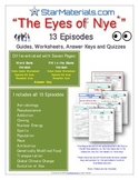 """Eyes of Nye"" - All 13 Episodes - EN_All - Worksheet, Answ"