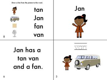 An Family Fluency Book