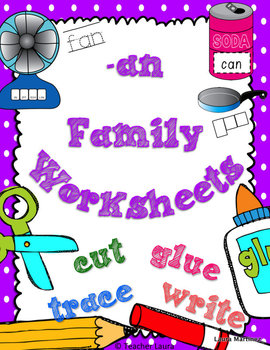 An Family Worksheets