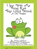 An I Spy With My Frog's Eye CVC Freebie