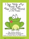 An I Spy With My Frog's Eye CVC Freebie