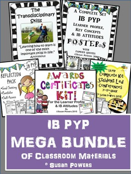 An IB PYP Mega Bundle of Classroom Tools