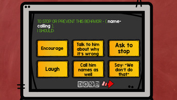 An INTERACTIVE GAME on Creating Positive Classroom Culture, Grades 4-6