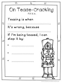 An INTERACTIVE Guidance Lesson on Crackin' Teasing, Grades 2-3