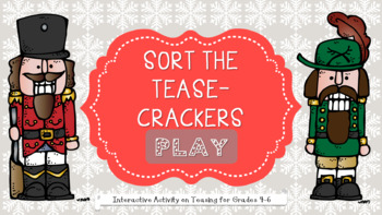 An INTERACTIVE Guidance Lesson on Crackin' Teasing, Grades 4-6