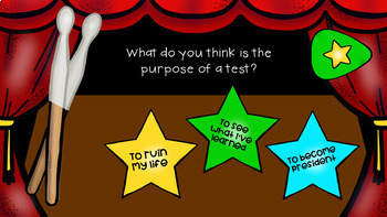 An INTERACTIVE Lesson on Dealing with Test Anxiety, Grades 4-6