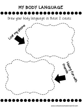 An INTERACTIVE Lesson on What My Body Language Tells My Friends, Grades 2-3