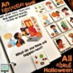 An INTERACTIVE book All About Halloween {with WH- questions}