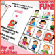 VALENTINE'S DAY Interactive Book {for WH- questions and language skills}