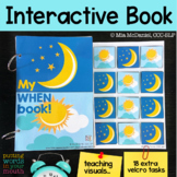 "INTERACTIVE book for ""WHEN"" questions"