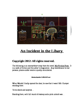 """""""An Incident in the Library (A Short Story)"""" New Book Trailer"""