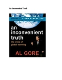 An Inconvenient Truth Outline Notes- Partly filled out