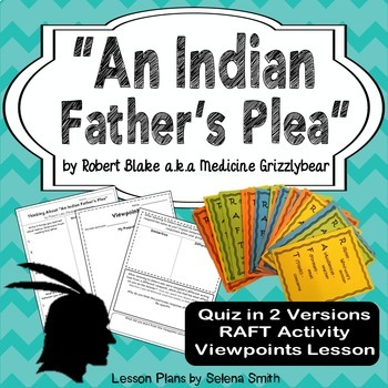 """An Indian Father's Plea"""
