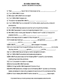 An Indian Father's Plea Complete Guided Reading Worksheet Springboard
