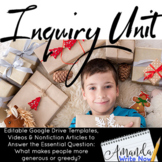 An Inquiry Unit: What Makes People More Generous or Greedy?
