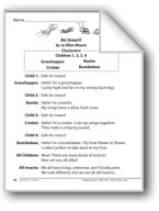 An Insect! (A Readers' Theater script)