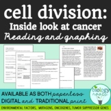 Cell Division- An Inside Look at Cancer Graphing and Reading Exercise