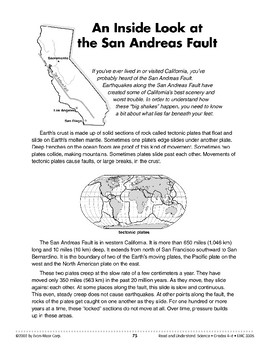 An Inside Look at the San Andreas Fault (Earth & Space Science)