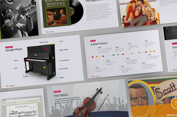 An Insight on a Timeless Musical Genre—Ragtime! 54 Slides [PowerPoint]