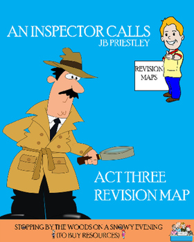 An Inspector Calls - Act Three Revision Map