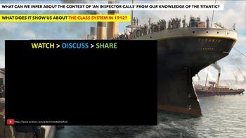 An Inspector Calls, COMPLETE CONTEXT UNIT! English Language Arts Study