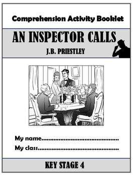An Inspector Calls Comprehension Activity Booklets!