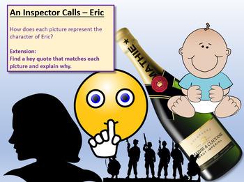 An Inspector Calls - Eric Birling