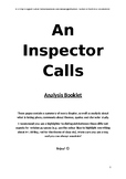 An Inspector Calls - FULL SUMMARY AND ANALYSIS REVISION /