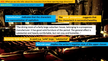 An Inspector Calls, Phase 7: Recriminations. Reading Unit. English Language Arts