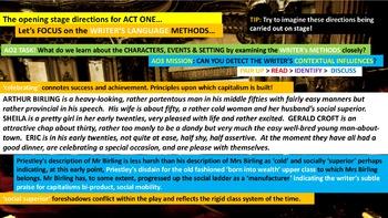 An Inspector Calls, Phase 7: Recriminations. Reading Unit. English Language Arts