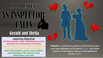 An Inspector Calls - Sheila and Gerald
